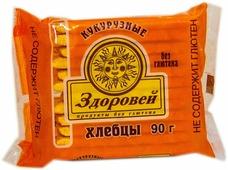 Здоровей хлебцы кукурузные, 90 г