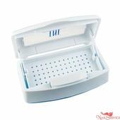 TNL Professional Пластиковый контейнер для стерилизации, прозрачная крышка. TNL Professional.
