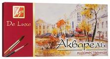 Луч Акварель художественная De Luxe 24 цвета