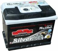 Аккумулятор для легковых автомобилей Sznajder Silver (70 A/h), 570A R+