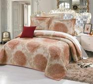 """Комплект для спальни Cleo """"Романья"""": покрывало 230 х 250 см, 2 наволочки 50 х 70 см"""