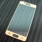 для Samsung A3 2016 / A310 Защитное стекло Ainy Full Screen Cover 2,5D 0,33 мм золотое