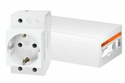 TDM РАр10-3-ОП розетка с заземляющим контактом Shuko SQ0209-0001