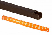 TDM кабель-канал 12х12 бук 3D 2м SQ0402-0401