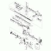 Компрессионная пружина 7 к 9554/55/57/58NB(14), MAKITA (233376-2)