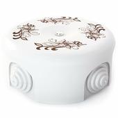 Распределительная коробка d 90mm декор №1 33517 (Lindas)