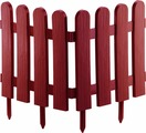 "Забор декоративный Palisad ""Классика"", цвет: терракоторвый, 29 см х 2,24 м"