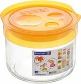 """Банка для сыпучих продуктов Luminarc """"Storing Box"""", с крышкой, цвет: оранжевый, 500 мл"""
