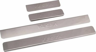 "Накладки внутренних порогов ""DolleX"", для ВАЗ-2180 LADA Vesta, 4 шт"