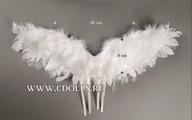 Dollmore Kinetic Wings (Кинетические крылья цвет белый для кукол Доллмор)
