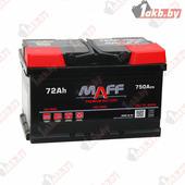 Аккумулятор для легковых автомобилей MAFF Premium (72 A/h), 750А L+ низкий