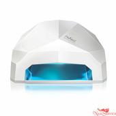 RuNail LED/UV-лампа, 24 Вт, белая. Runail.