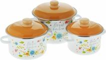 "Набор посуды Appetite ""Floral Kitchen"", 6 предметов"