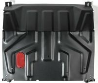 Защита картера и КПП Автоброня для Lada Samara 2108/2115 1984-2013, сталь 2 мм, без крепежа. 1.06015.1