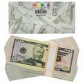 """Конверт для денег Эврика """"50 долларов"""", 10 шт"""