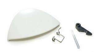 Ручка люка для стиральной машины Indesit / Ariston (ракушка) C0075323