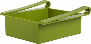 """Контейнер для холодильника Homsu """"Для кухни"""", цвет: зеленый, 16 x 15 x 7 см"""
