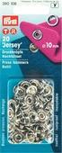 """Набор кнопок Prym """"Джерси"""", без насадок, цвет: серебристый, 10 мм, 20 шт. 390106"""