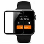 Противоударное защитное стекло на весь экран Full Screen Cover черное Apple Watch Series 4 40mm