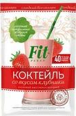 Коктейль злаковый FitPARAD Клубника, 30 г