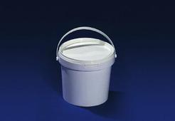 Ведро полипропиленовое пищевое белое 1,1л JOKEY, с белой крышкой.1802/899z
