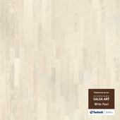 Паркетная Доска Tarkett Salsa Art White Pearl (WSAAA-ASBBWPOPT227)