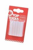 Стержни клеевые TOP TOOLS 42E081 8мм, 12 штук, прозрачные
