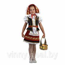 Карнавальный костюм батик Красная Шапочка Арт. 945 30 (рост 116 см)