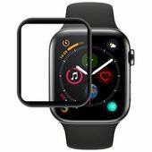 Ainy 5D защитное стекло для часов Apple Watch 38mm с полной проклейкой, Ainy, цвет чёрный