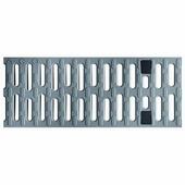 Решетка для каналов ACO Multiline V100 (пластиковая, серая)