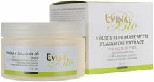 Evinal Питательная маска с плацентой, для всех типов волос, 250 мл