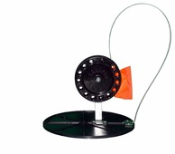 Жерлица зимняя РБ Жерлица (ставка) зимняя на диске 210мм, катушка 90мм