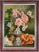 """Схема для вышивки Каролинка """"Розы с фруктами"""", кл 3031"""