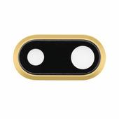 Стекло задней камеры для iPhone 8 Plus Gold