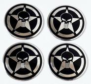 """Наклейки """"Каратель 2"""" на колесные диски, 4 шт."""