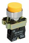 IEK Кнопка управления LAY5-BL51 без подсветки желтая (BBT71-BL-K05)