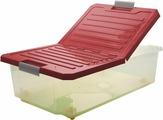 Ящик для хранения BranQ Unibox, BQ2564БРД, бордовый, 61,6 х 40,5 х 20,2 см