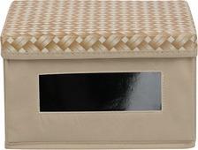 Коробка для хранения Handy Home Плетенка, FF-04, песочный, 25 х 25 х 15 см