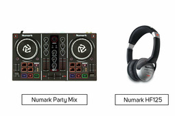 Numark Party Mix + Numark HF125