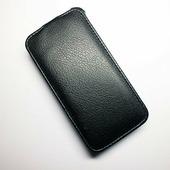Кожаный чехол Armor Case Black Lenovo IdeaPhone A390