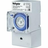 Таймер Navigator NTR-A-D01-GR на DIN-рейку электромех. 3500W (61560)