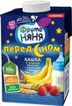 Каша ФрутоНяня молочная, из 5 злаков с клубникой и бананом, 500 мл