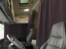 Комплект автоштор Эскар Blackout - auto XLK, сиренево - коричневый, 2 шторы 240 х 100 см, 2 шторы 120 х 160 см, 2 подхвата, 2 гибких карниза 3 + 5 м