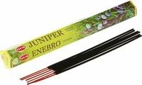 Угольные благовония Hem Incense Sticks JUNIPER (Благовония Можжевельник Хем), уп. 20 палочек.