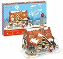 CubicFun Пазл Рождественский домик 1