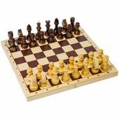 Игра настольная Шахматы Орловские шахматы, обиходные деревянные с доской