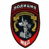 Шеврон Полиция Центральный аппарат МВД России (вышитый)