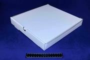 Коробка под пиццу 250*250*40 белая.9015/1520