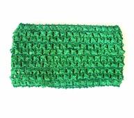 Ткань Caramelkalife Резинка сетчатая, ширина 7 см. Цвет Зеленый.