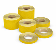 Противоскользящая лента (эконом), тип Basic, размер абразива 60-Grit, желтый (25 мм х 18,3 м) {MAGR025183}